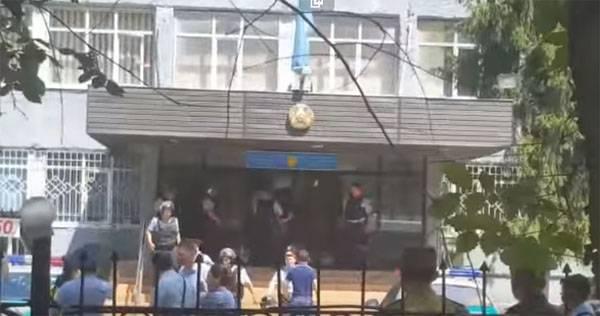 Красный уровень террористической угрозы в Алма-Ате