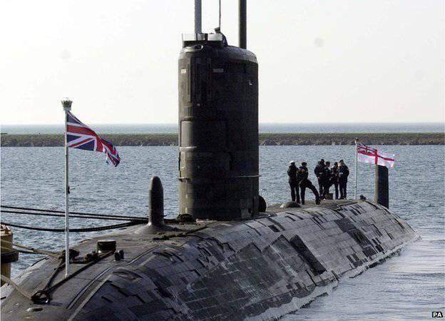 """Для """"защиты"""" от РФ и КНДР Британия построит 4 новые субмарины с ядерным оружием"""
