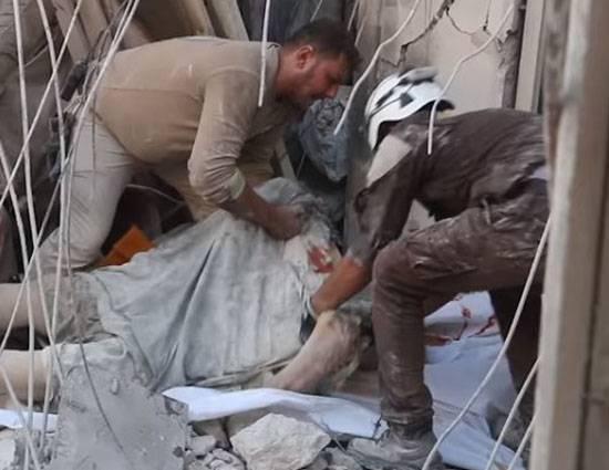 Самолёты американской коалиции нанесли удары по мирным жителям в провинции Алеппо