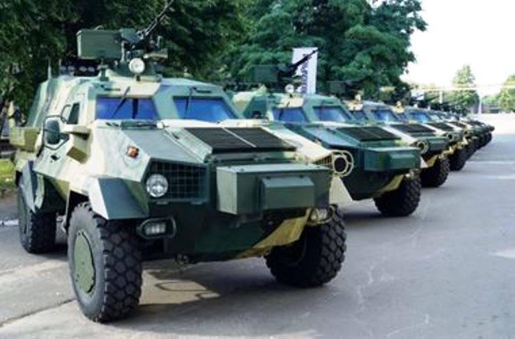"""O primeiro lote de atualização """"Dozorov"""" transferido para o exército ucraniano"""