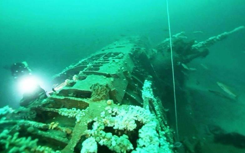 затонувшая подводная лодка в 2014 году