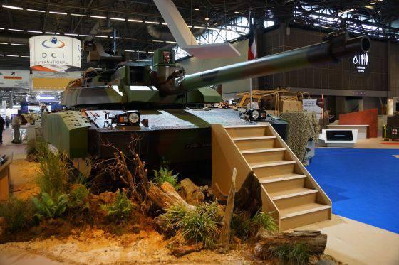 Projeto de modernização do tanque principal AMX-56 Leclerc Renove (França)
