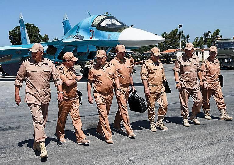 """""""Kommersant"""": neuer Kommandeur der russischen Gruppe in Syrien"""
