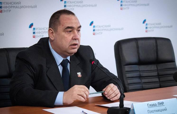 """Zimmermann hat versprochen, """"bald"""" das Flugzeug der Republik Lugansk zu zeigen"""