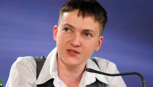 Nadezhda Savchenko ha dichiarato la necessità di chiedere perdono agli abitanti del Donbass