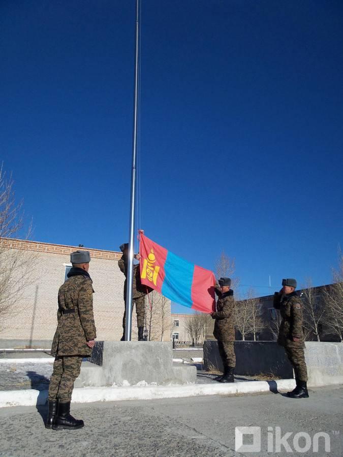 몽골 군대의 가장 전투 준비가 된 화합물