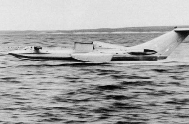 Navio voador SM-1: a história do primeiro ekranoplan soviético