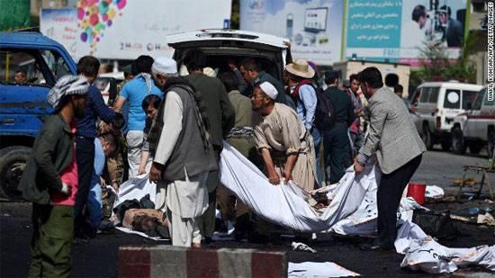 Des dizaines de vies ont pris les attentats à Kaboul