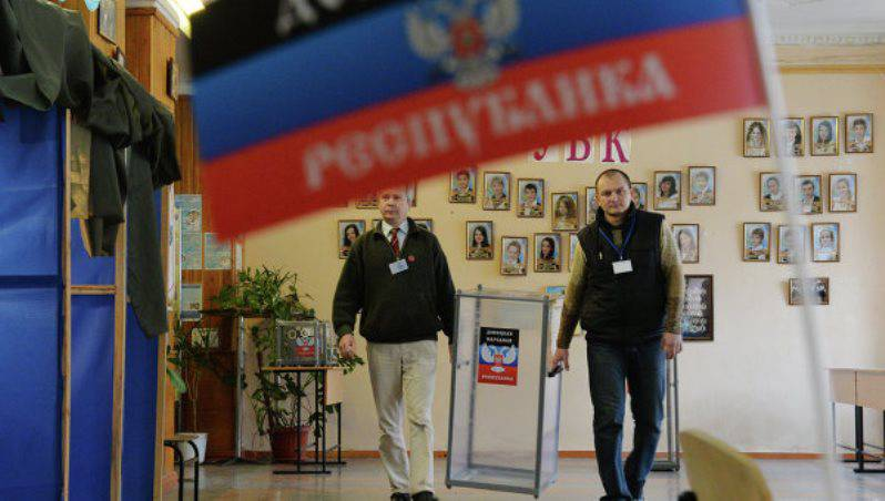 The leadership of the DPR has appointed an election date. In Kiev, this decision does not agree