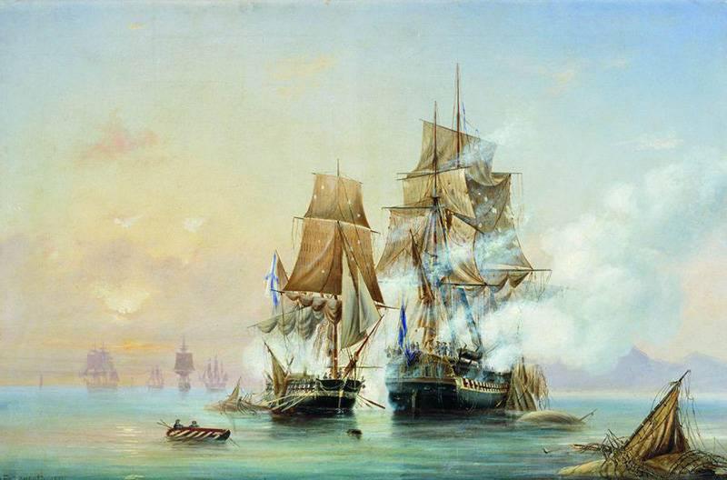 18世紀後半のスウェーデンの再統治に対するロシアの闘争。 エーランドバトル