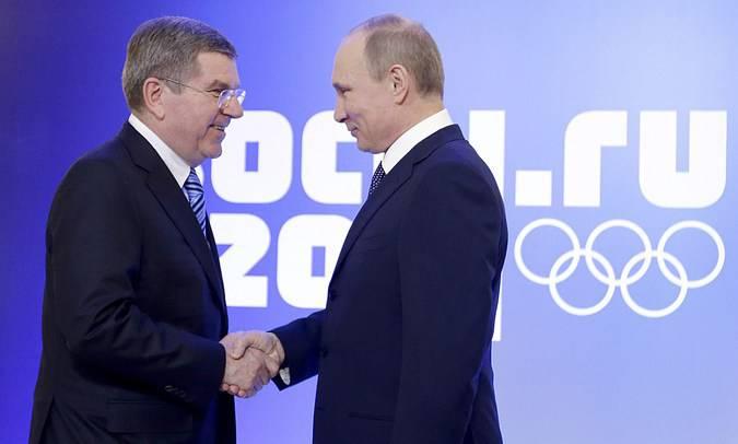 """Немецкое издание назвало главу МОК Томаса Баха """"пуделем Путина"""""""