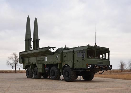 ОТРК «Искандер-М» в ЗВО отрабатывают уничтожение командных пунктов условного противника