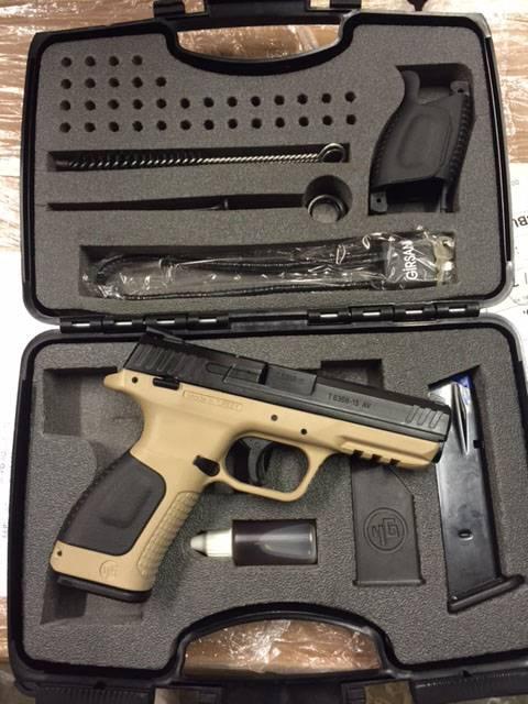 Самозарядный пистолет Girsan MC28 SACS