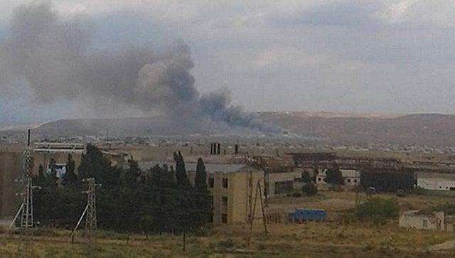 В Азербайджане назвали причину взрыва на оружейном заводе