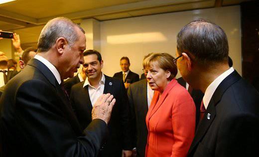 Эрдоган требует у ЕС деньги на содержание беженцев