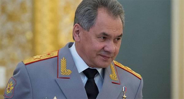 Сергей Шойгу рассказал о создании войскового кулака РФ на южном и юго-западном направлениях