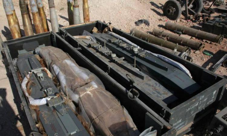 Боевики ИГ продемонстрировали оружие, захваченное у формирований сирийской умеренной оппозиции