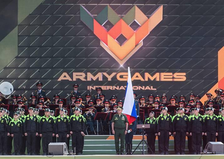 «Армейские игры-2016» открылись многонациональным парадом