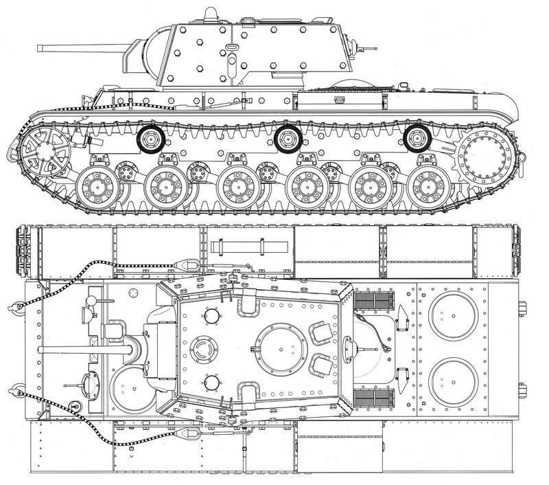 Последний бой танка КВ-1 лейтенанта Ярыгина