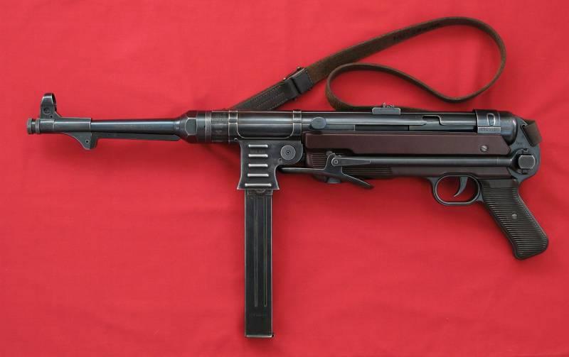 Соперники пистолета-пулемёта Шпагина. Часть первая