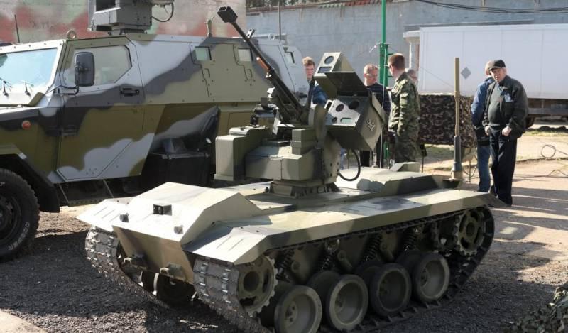 Робот «Нерехта» и БЛА «Шершень» будут представлены на форуме «Армия-2016»