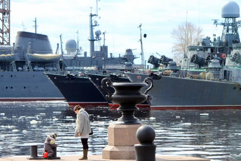 На Балтфлоте проводится «месячник безопасности военной службы»