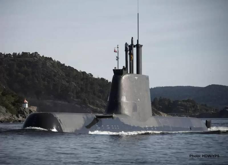 ВМС Греции пополнились двумя подлодками класса 214HN