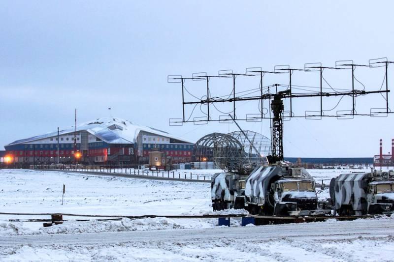 Минобороны РФ укрепляет своё присутствие в Арктике