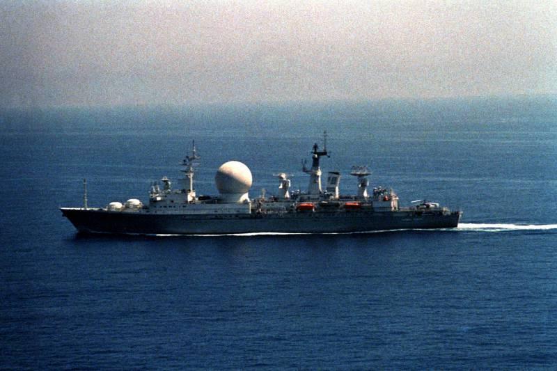 Проект корабля измерительного комплекса «18290»