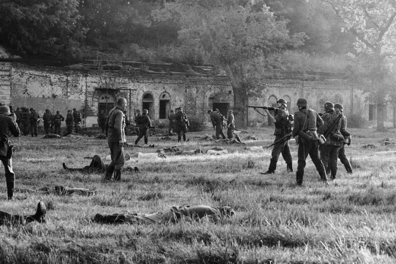 22 июня. Брестская крепость. Реконструкция сражения