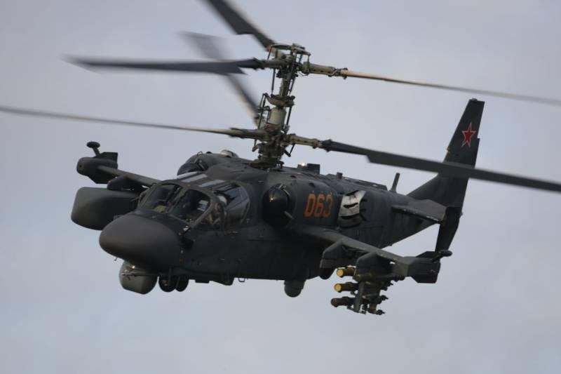 Борисов: Ка-52К будут испытаны в Сирии