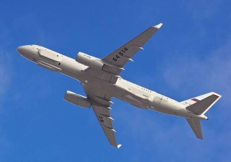 Минобороны заказало третий самолёт Ту-214Р