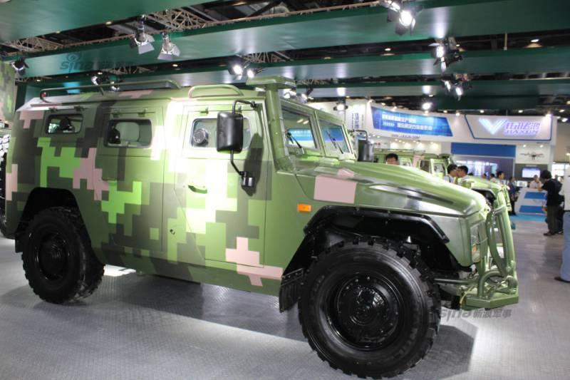 Китай завершил локализацию производства броневиков «Тигр»