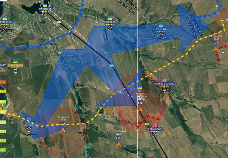 Военкор «Маг» о боях на дебальцевском участке фронта