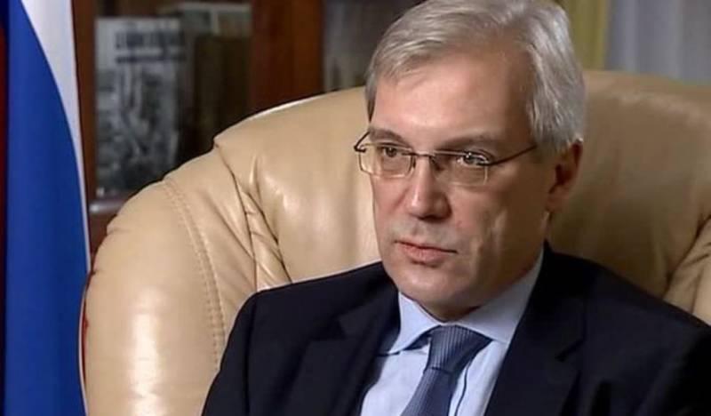 Грушко: конфронтационные меры НАТО не останутся без ответа