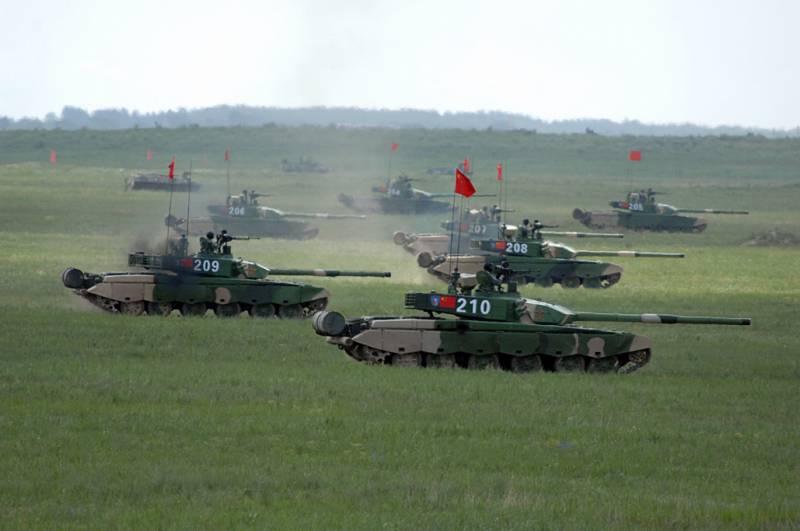 В Россию прибывает китайская техника, которая будет задействована в Армейских играх
