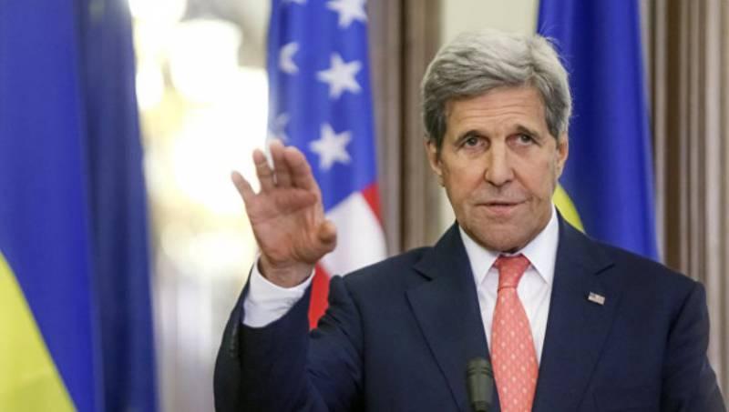 Керри: давление Вашингтона на Путина предотвратило кровопролитие на Украине