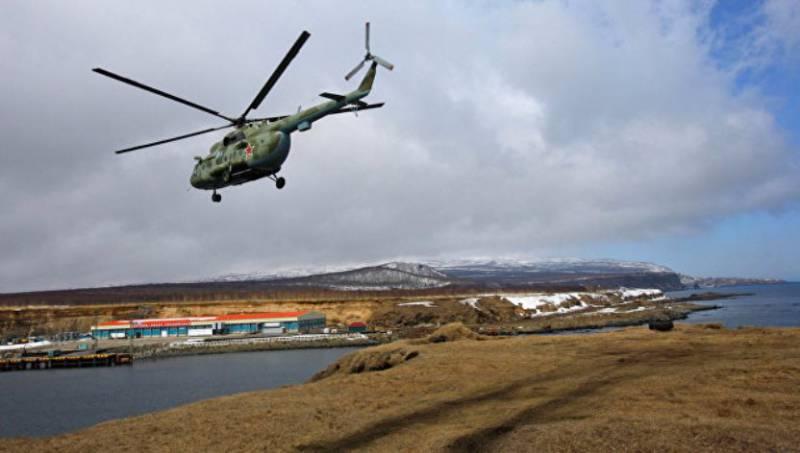 На Кунашире и Итурупе возводятся новые военные объекты