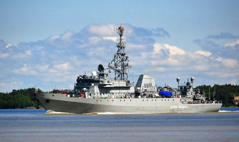 Судно связи «Иван Хурс» будет передано флоту к концу 2017 г
