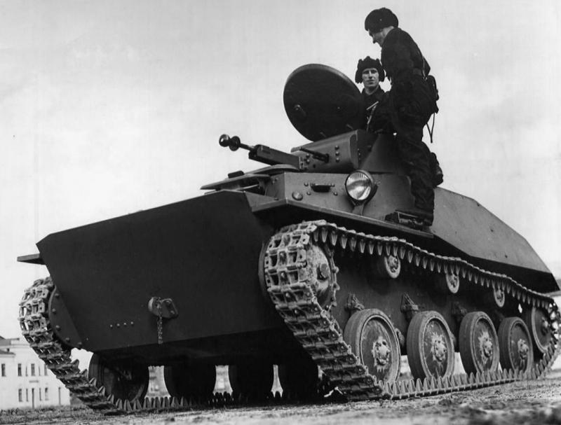 Лёгкий танк Т-45: вариант модернизации танка Т-60