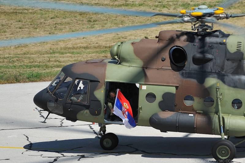 Купленные у России вертолеты переданы сербским ВВС