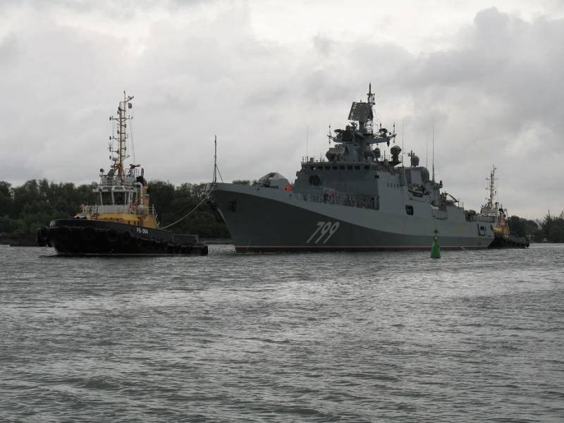 «Адмирал Макаров» передан на заводские испытания