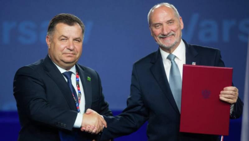 СМИ: военные ведомства Польши и Украины подписали соглашение «о взаимной поставке оружия» и военной техники