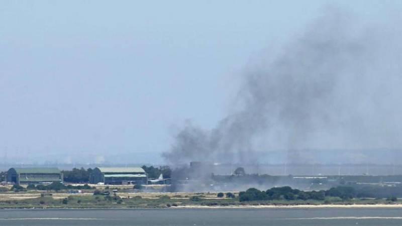 В Португалии потерпел крушение С-130 Hercules ВВС страны