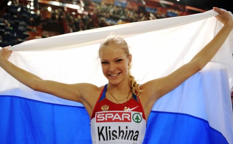 Информационная война в спорте. Дарья Клишина — случайный солдат с тату на пятой точке