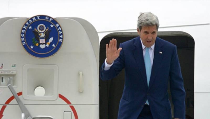 Джона Керри в четверг ожидают в Москве