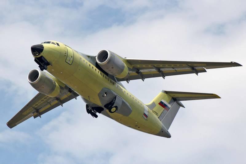 В Воронеже приступили к лётным испытаниям нового АН-148