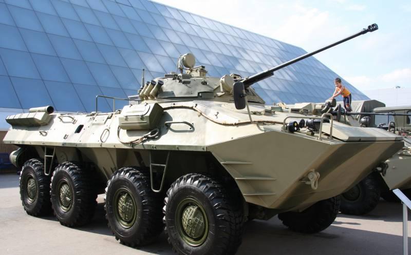 Новости проекта бронетранспортера с гибридной силовой установкой «Крымск»