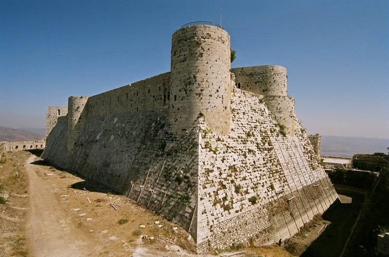 Крак де Шевалье: одна из лучших крепостей средневековья