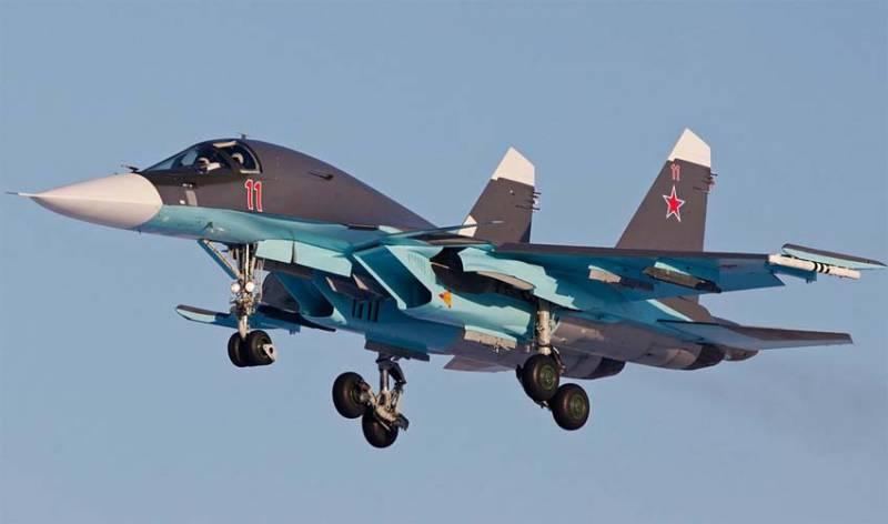 Первый этап ОКР по модернизации Су-34 завершится до конца года